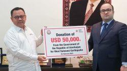 Azerbaijan 'Suntik' PMI Donasi Kemanusiaan
