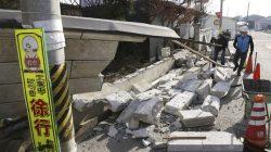 Jepang Diguncang Gempa 7.1 SR Ratusan Rumah Rusak