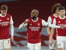 Arsenal Vs Tottenham Hotspur 2 : 1