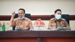 Ngopi Bareng, Plt Gubernur Sulsel Ademkan Suasana