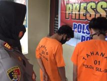 Tiga Remaja di Gowa Gasak Kabel PLN