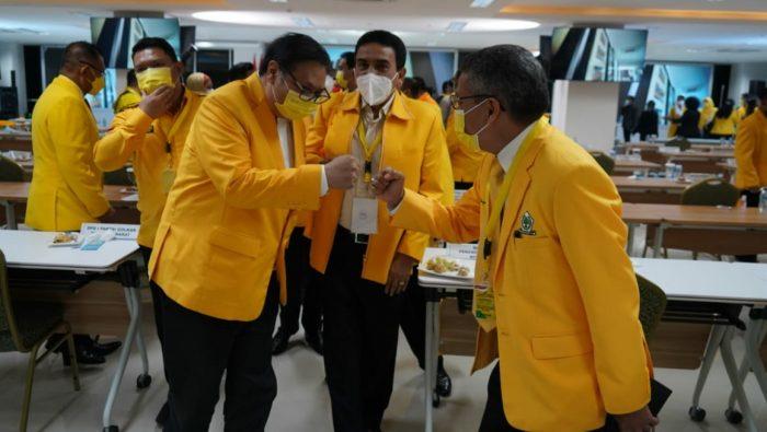 Rapimnas Golkar, Airlangga Hartarto Panggil Taufan Pawe Gubernur