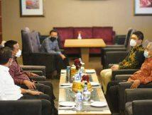 Duduk Bersama Apindo, Plt Gubernur Sulsel: Laporkan Bila Ada Hambat Investasi
