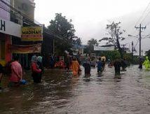 Gowa Dikepung Banjir; Catering Madinah hingga Perumahan Polri Terendam