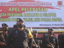 Brimob Asal Bone Dikirim ke Papua, Misi Berantas KKB?