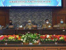 Forum Konsultasi Publik Penyempurnaan Rancangan Awal Perubahan RPJMD Tahun 2018-2023