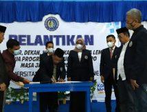 Berikut Daftar Nama-nama Wakil Rektor UNIM Bone Dilantik