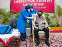 Hingga Hari Ini, Segini Jumlah Warga Indonesia Telah Divaksinasi Covid-19