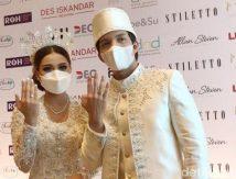 SAH Menikah, Pasangan Atta Halilintar dan Aurel Hermansyah Menangis