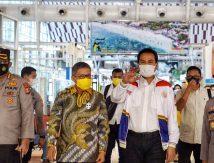 Taufan Sambut Rombongan Golkar di Bandara Hasanuddin, Berikut Petinggi yang Hadir