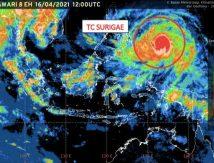 Siklon Tropis Surigae Meningkat, Berikut Sembilan Provinsi Diminta Siap Siaga