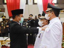 Bupati dan Wabup Toraja Utara Resmi Dilantik, Ini Titipan Plt Gubernur