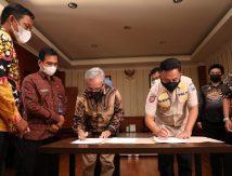 Teken Perjanjian, Akom Sokong Program Pemkab Bantaeng, Begini Wujudnya
