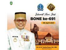 Ungkapan Cinta HJB Ke-691 Ala Taufan Pawe
