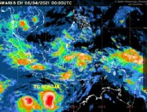 Intensitas Siklon Tropis Seroja Meningkat, Berikut Empat Provinsi Harus Waspada