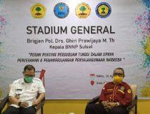 STIEM Bongaya Gandeng BNNP Beri Pencerahan Bahaya Barang Haram