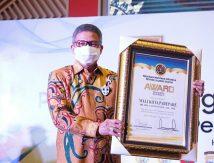 Selamat, Wali Kota Parepare Sabet Penghargaan PWI Susel, Ini Kontribusinya