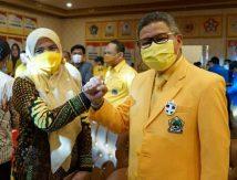 """Suhartina """"Panaskan Mesin"""" di Maros, Bawa AH Presiden dan TP Gubernur 2024"""