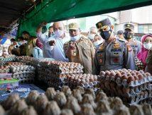 Plt Gubernur Sulsel Cek Bahan Pokok Jelang Ramadan, Berikut Daftar Kenaikan dan Penurunan Harga
