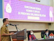 Terima Rombongan Komisi X DPR RI, Plt Gubernur Sulsel Singgung Soal Ini