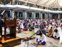 Di Masjid Al-Markaz, Berikut Catatan Penting Plt Gubernur Sulsel