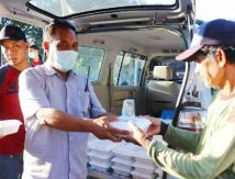 Paket Cinta Ala Umpro Setda Selayar Sasar Tukang Becak di Bulan Ramadan