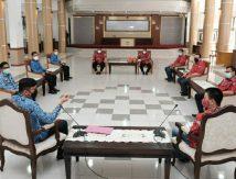 Bupati Adnan Siap Fasilitasi Vaksinasi Covid-19 Pengurus PSMTI Gowa