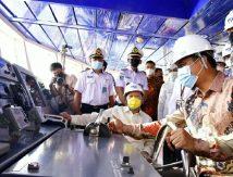 Harapan Plt Gubernur Usai Resmikan Pengoperasian Perdana KMP Takabonerate