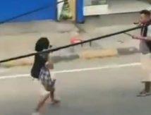 Pria di Pinrang Viral, Cekcok Transaksi Sabu Berakhir Adu Samurai vs Parang