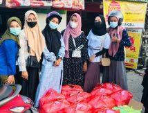 Aksi Bidadari Prodi Peternakan UMB Bagi-bagi 200 Paket Cinta