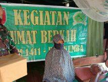 Door to Door Ala Prajurit Kodim 1411/Bulukumba Bagikan Paket Cinta