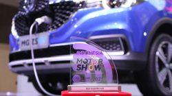 FOTO: MG Raih Best Booth Design Award di Perhelatan IIMS Hybrid 2021