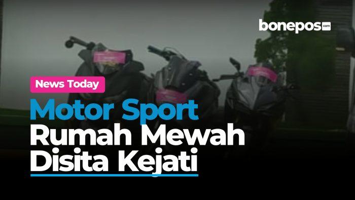 VIDEO: Kejati Sita Motor Sport dan Rumah Mewah dari Tersangka Korupsi di Sulsel