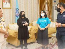 Bupati Fahsar Terima UNICEF di Rujab, Hadir Gita Gutawa