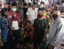 Sentuh Hati Pedagang, PD Pasar Ingatkan Pedagang Pentingnya Prokes