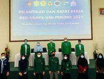 Pelantikan BSO KBMFK UMI Periode 2021, Begini Wejangan Dekan FK