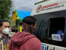Lewati Batas Kabupaten Jeneponto-Takalar, Siap-siap Dites Satgas Covid-19