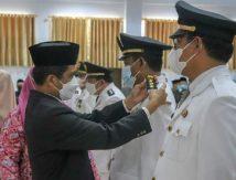 Bareng Sekda, Wabup Saiful Lantik Pejabat Selayar