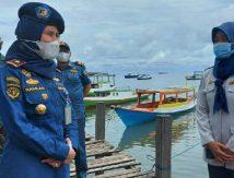 """Tidak Kantongi Surat Keterangan, """"Dilarang"""" Melintasi Pelabuhan Maccini Baji Pangkep"""