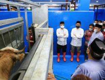 Sinergitas Pemprov Sulsel-Pemkot Makassar Antisipasi Lonjakan Harga Daging Jelang Lebaran