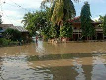 Banjir Sapu Sibulue Bone, 100 Rumah Terendam
