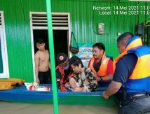Rumah Terendam, Cerita 207 Warga Bertahan di Titik Pengungsian