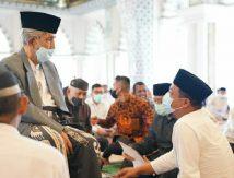 AGH Sanusi Baco Sakit Kolik Abdomen, Plt Gubernur Ajak Masyarakat Kirim Doa