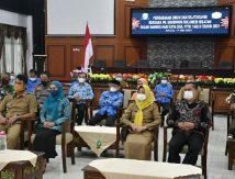 Silaturahmi Suasana Lebaran, Bupati Sinjai Tidak Salaman dengan Plt Gubernur Sulsel