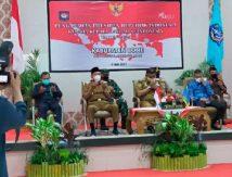 Bupati Fahsar Cs Dengarkan Arahan Presiden Jokowi