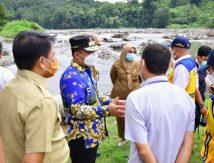 Plt Gubernur Dorong Pembangunan Jalan Tambang di Gowa, Segini Panjangnya