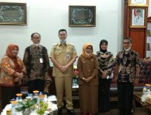 Temui Bupati Pangkep, Direktur Universitas Terbuka Makassar Bahas Ini