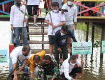 Permabudhi Tanam 2 Ribu Bibit Mangrove, Curi Perhatian Wali Kota Danny