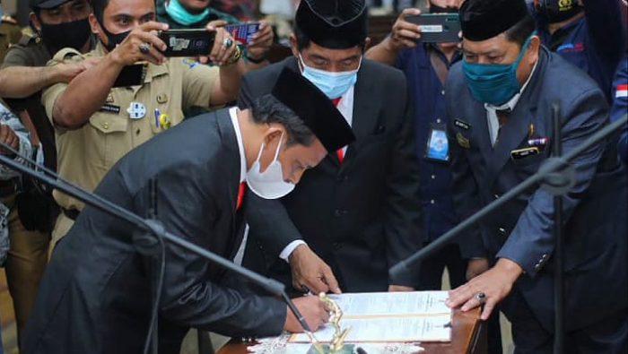 Arifuddin Resmi Gantikan Istri Wabup Jadi Ketua DPRD Jeneponto