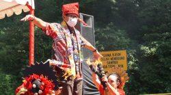 FOTO: Gaya Sandiaga Uno Saat Kunker di Kabupaten Gowa Sulsel